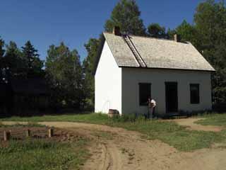 La maison Godin 1880 Source : © Village historique acadien