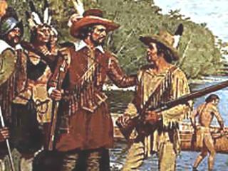 Etienne and Samuel de Champlain