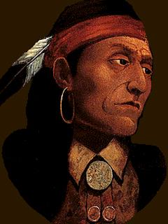 Le chef Pontiac est un personnage historique important dans l'histoire de l'Am�rique du Nord.